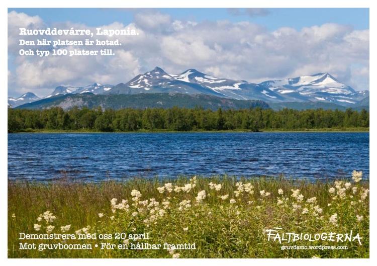 Ruovddevárre, Laponia.
